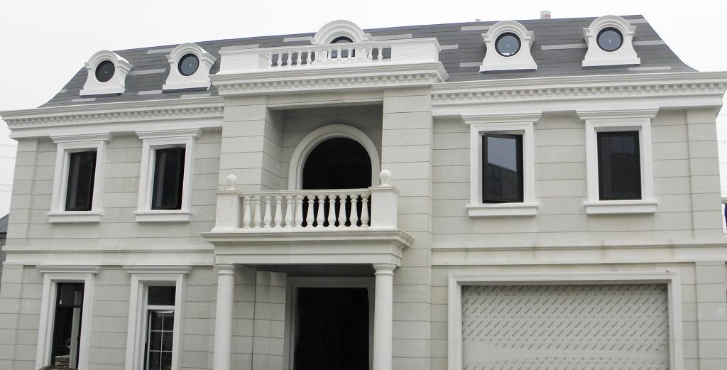 3D-printed mansion