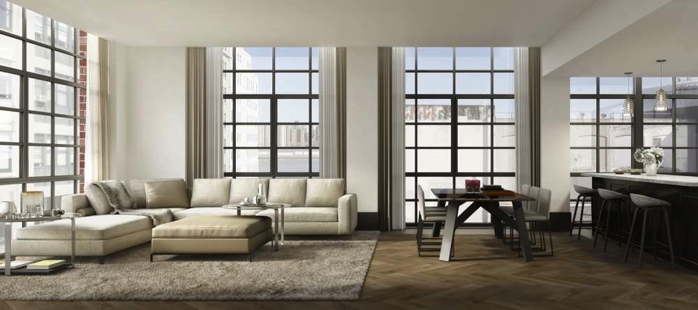 51 Jay Street living room