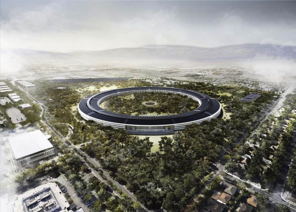 Apple spaceship headquarters-2