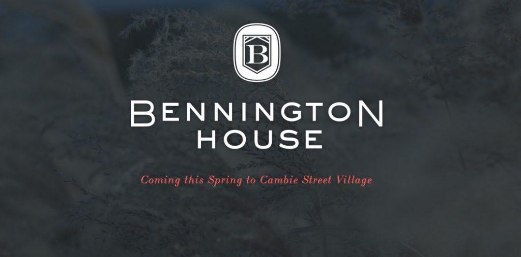 Bennington House vancouver condo townhome