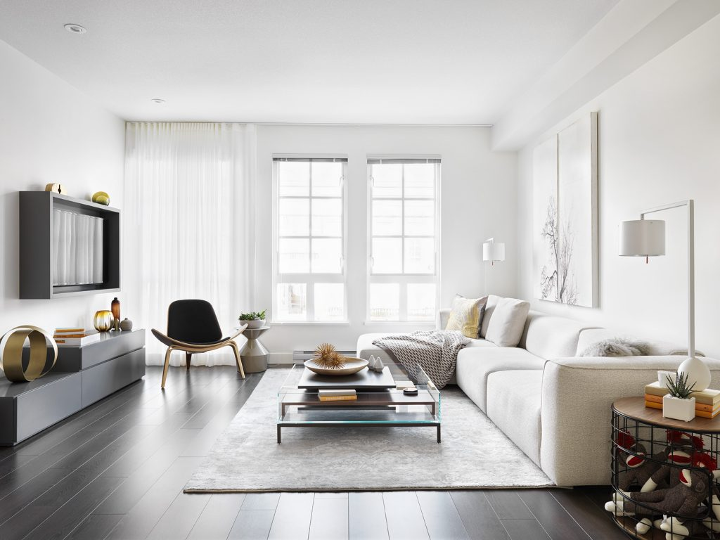 Black+Whites on Foster interior