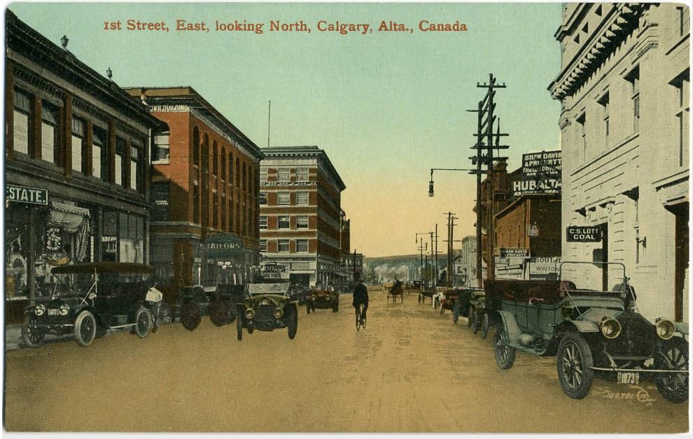 Calgary historic postcard-1