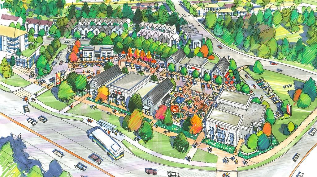 Clayton Market Village - Surrey townhomes