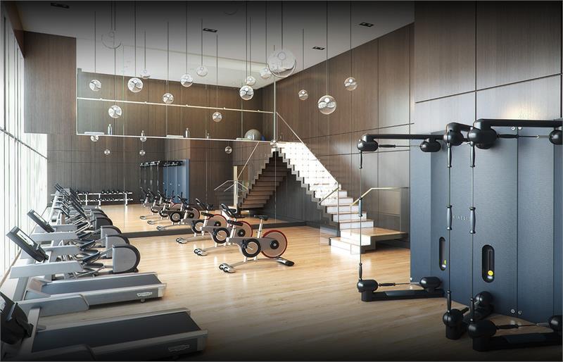 Concord Gardens fitness centre