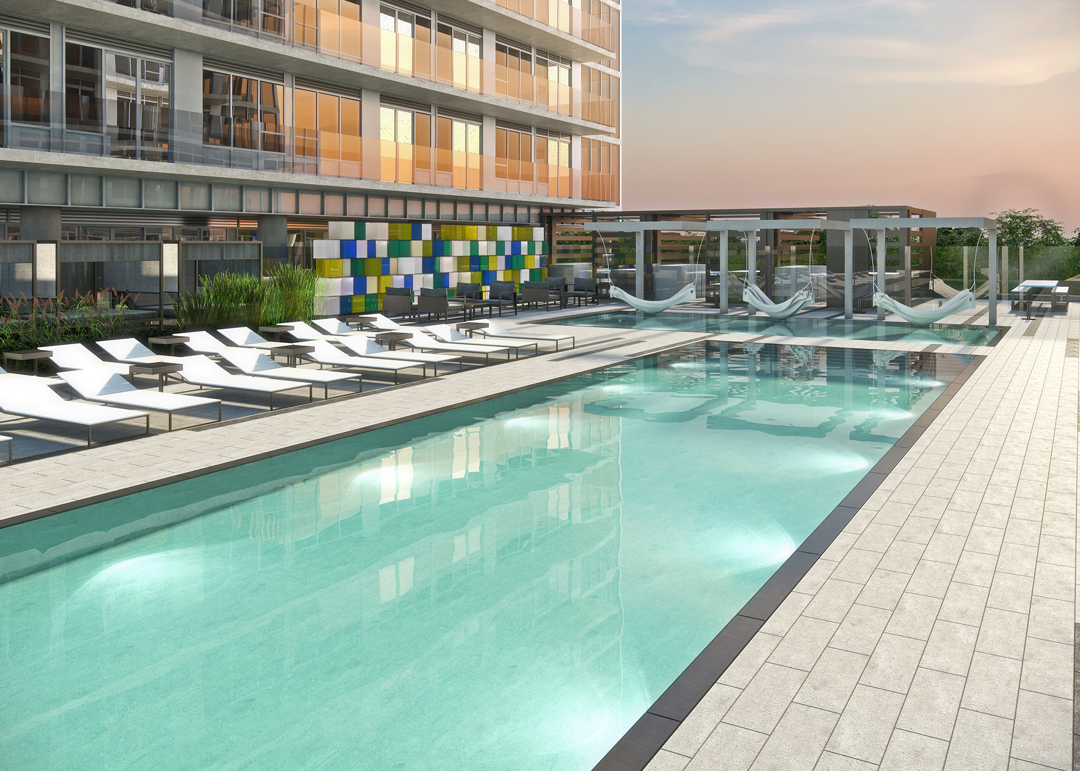 Pemberton-CityLights Pool Rendering