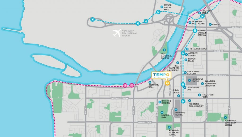 Tempo richmond condos community map