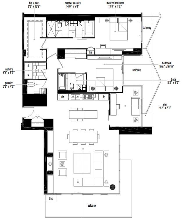 Verve Calgary condo penthouse