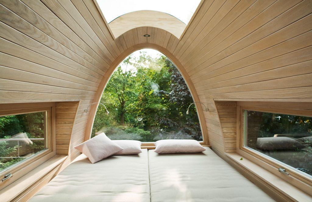 cozy luxury tree house