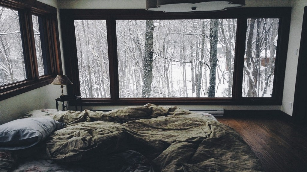 cozy winter room