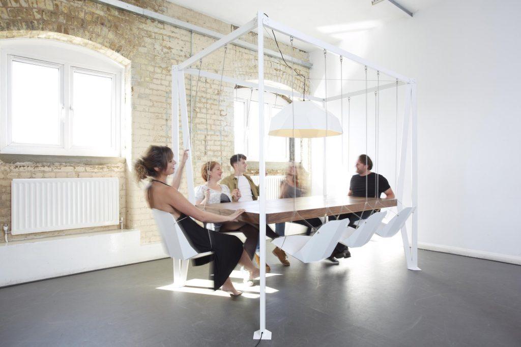 dining room swing