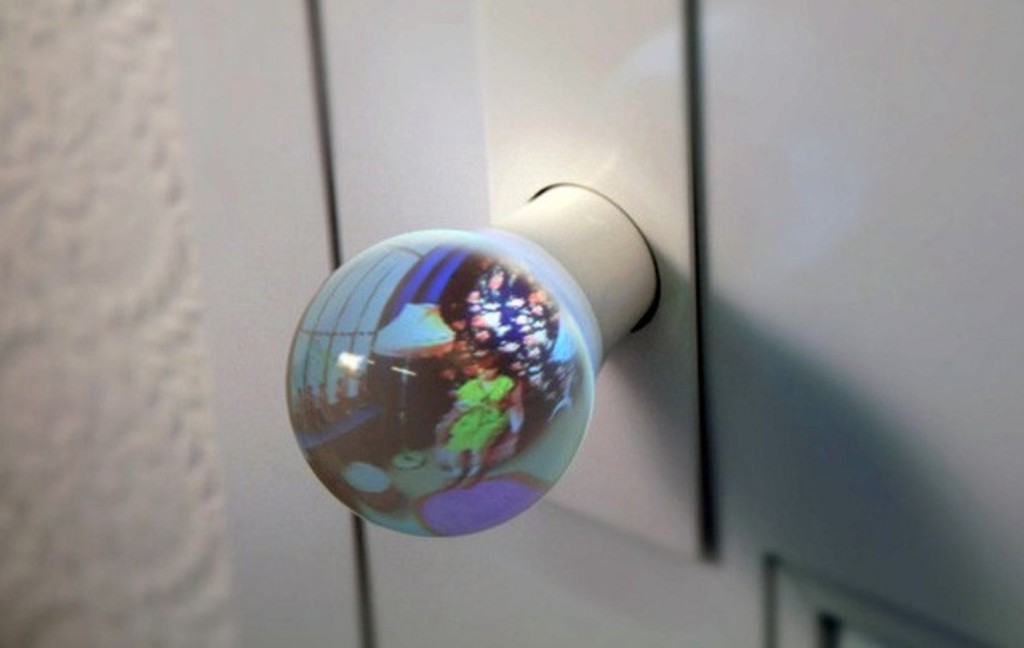 fish-eye doornob