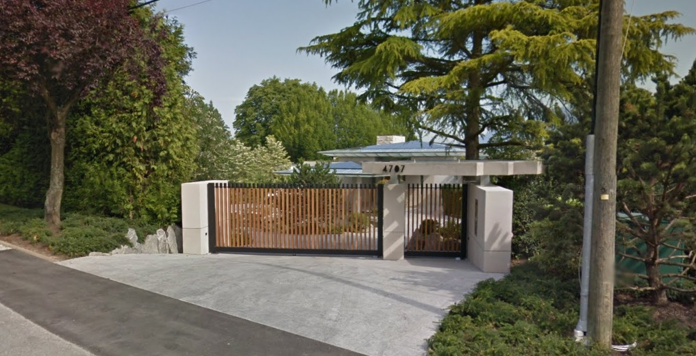 Four of the five most expensive properties in BC are on Vancouver's West Side