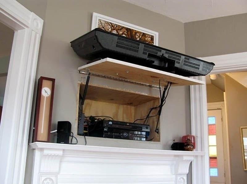 secret tv storage