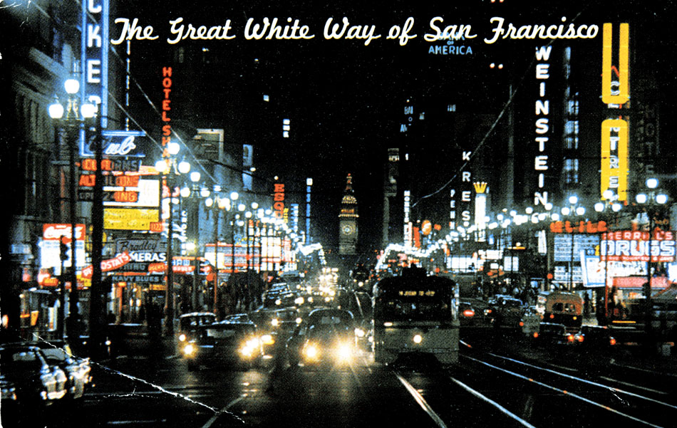 Great White Way San Francisco Todd Lappin
