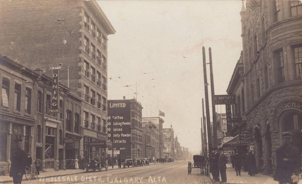 Calgary Wholesale District historic