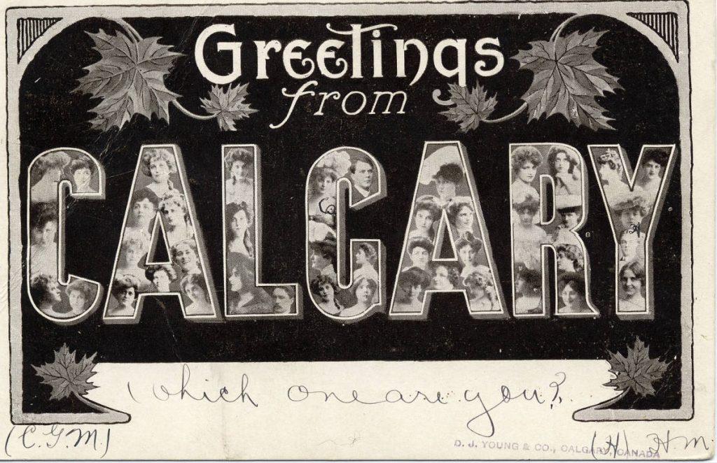 Calgary historic postcard-2