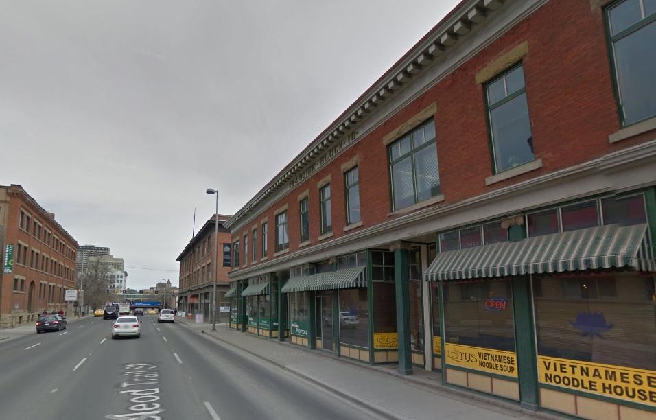 Calgary history 2nd street 2