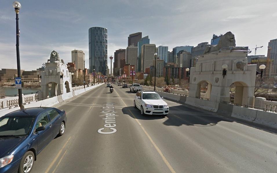 Calgary history centre street bridge 2