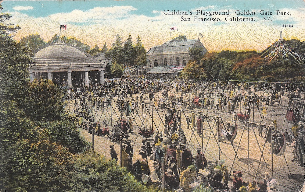 Children's Playground Golden Gate Park Ed Bierman