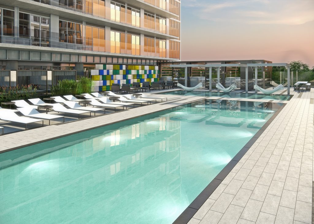 Citylights Pool Renderings
