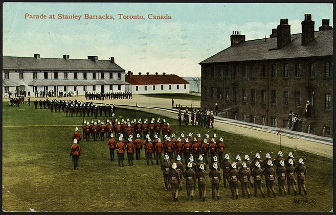 Fort York postcard