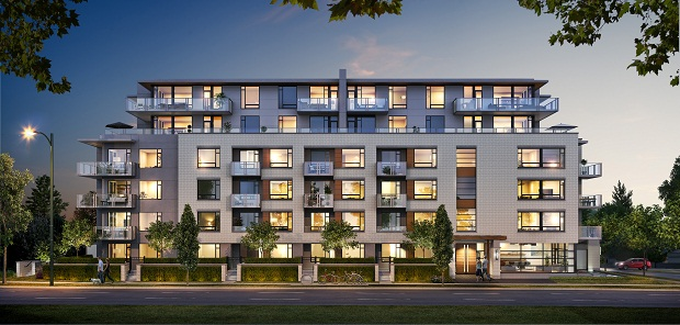 Livingstone House Vancouver condos and townhomes
