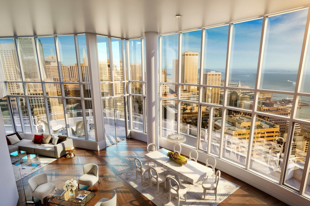 Lumina SteelBlue penthouse