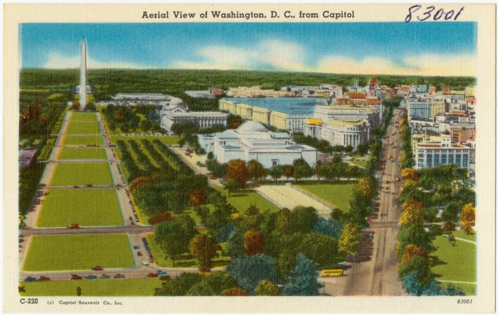 aerial view dc