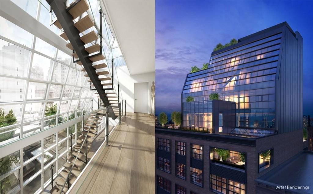 floorplan penthouse