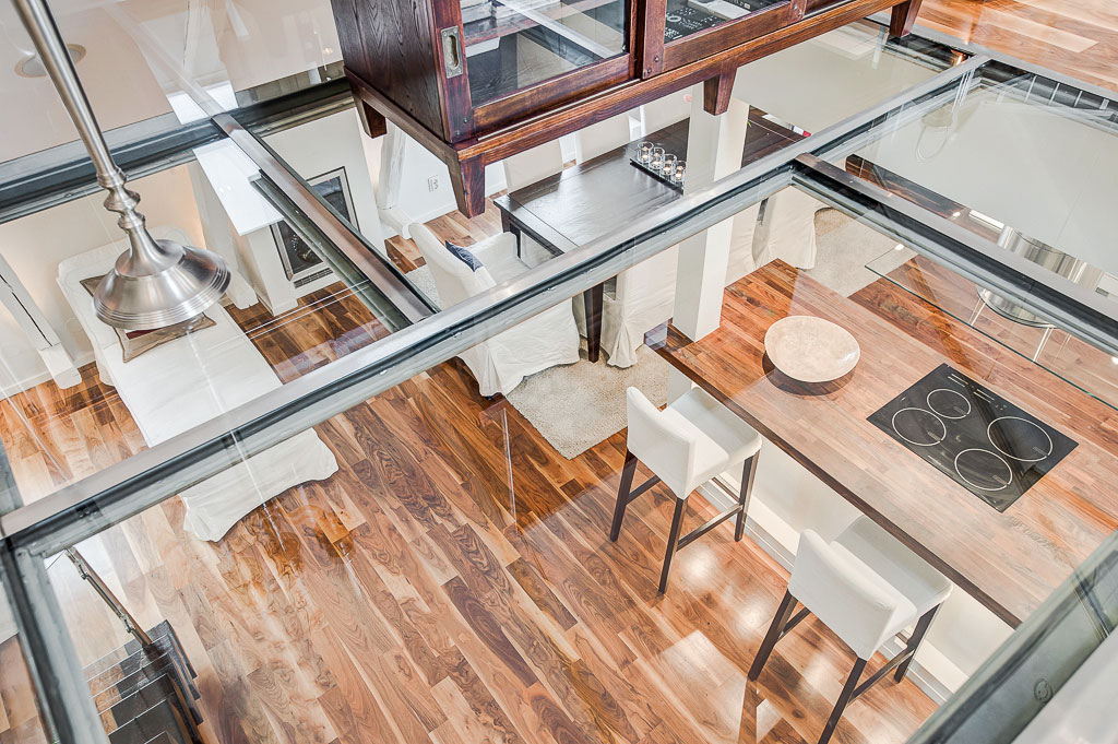 glass floors - dream home