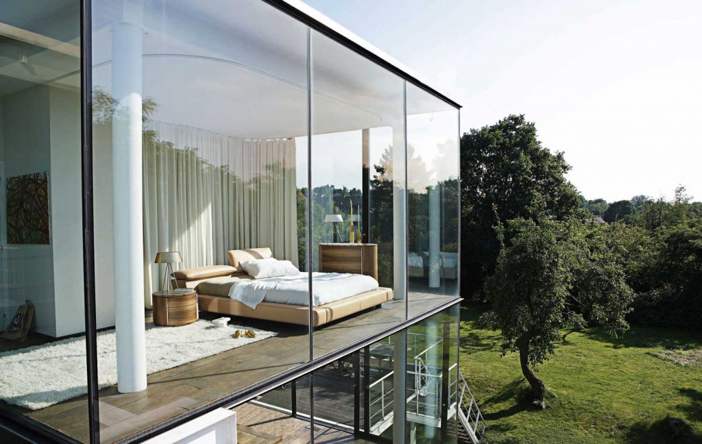 glass walls - dream home