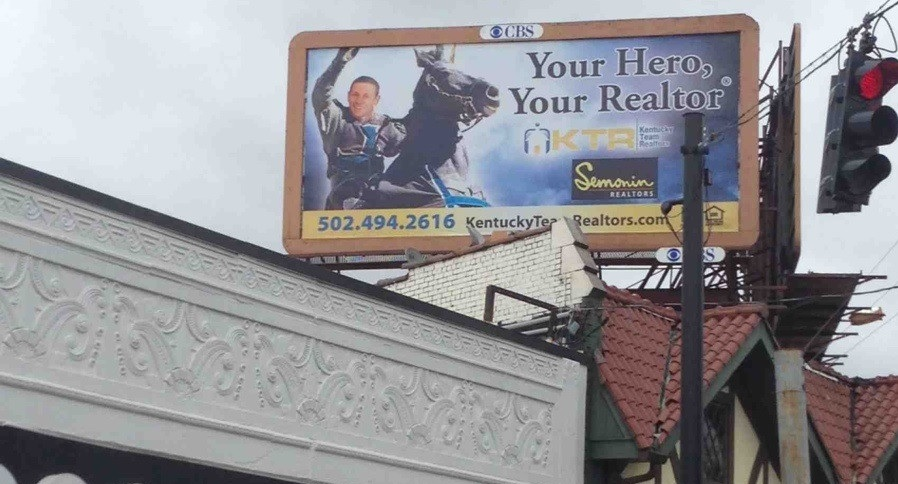 hero realtor billboard