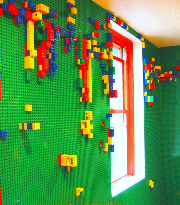 lego wall - dream home
