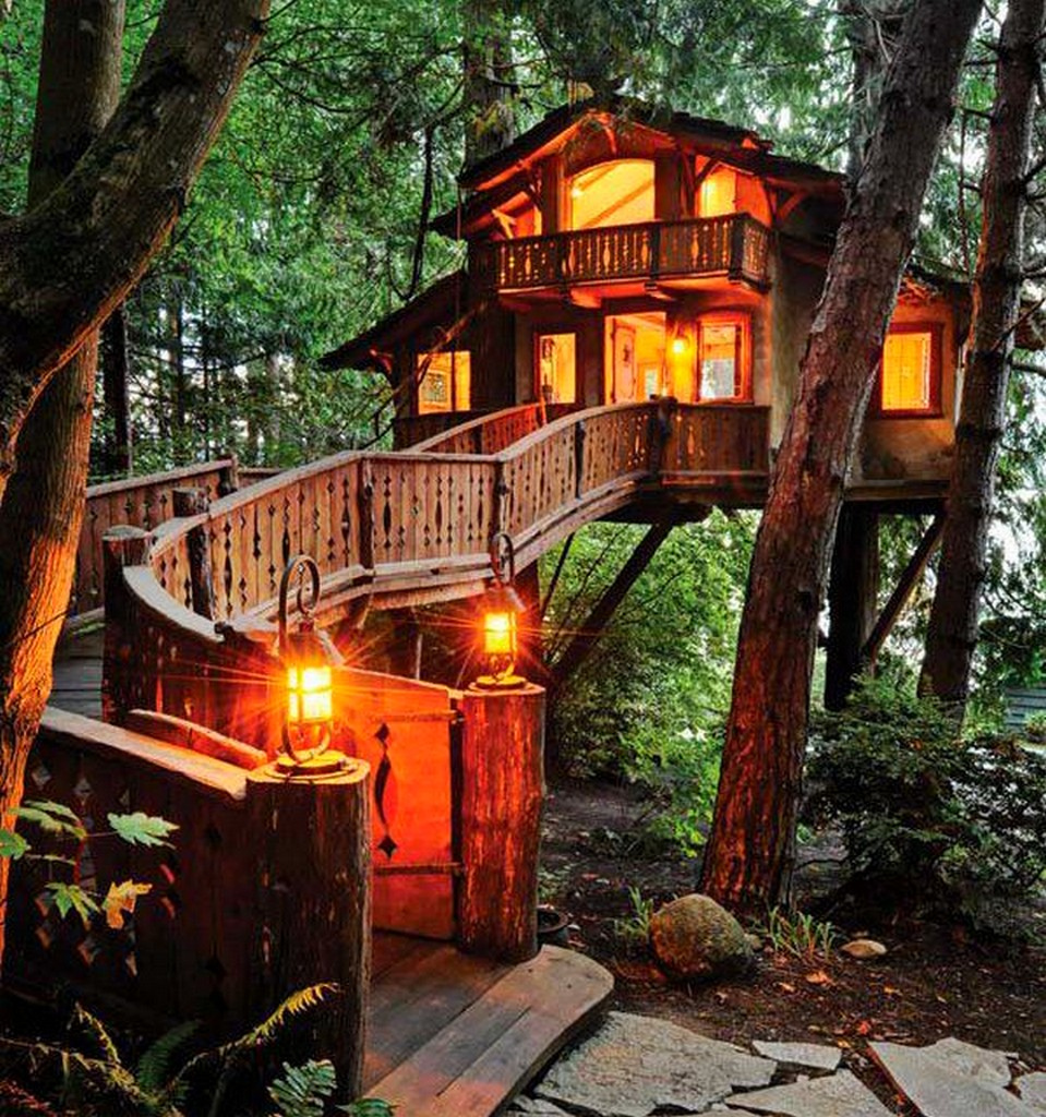 luxury tree house - dream home