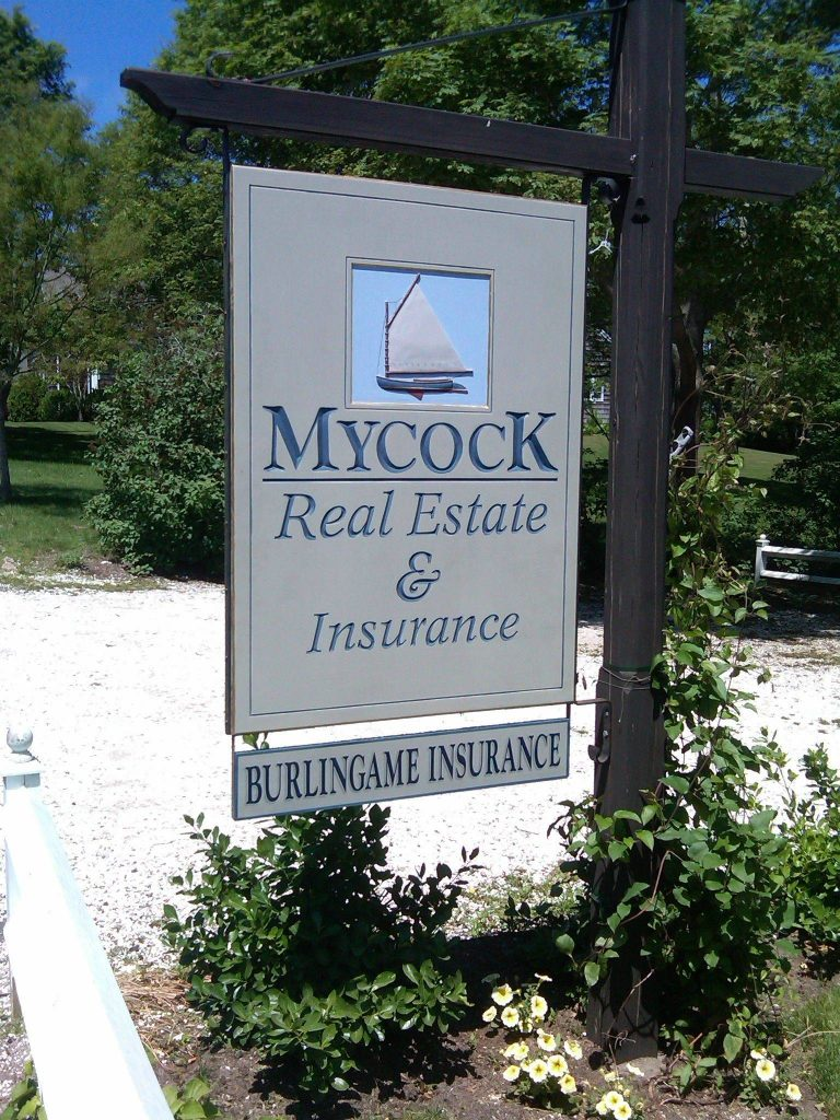mycock real estate signage