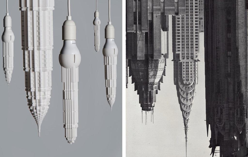skyscraper LED lights