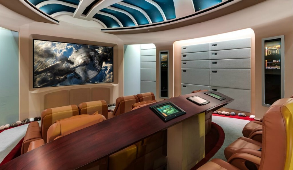 star trek home theater - dream home