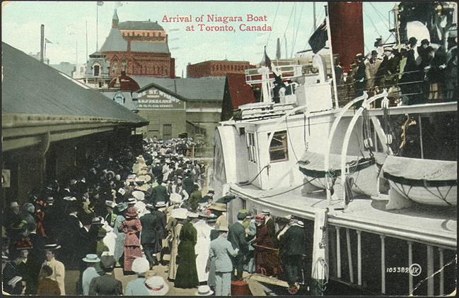 toronto postcard historic