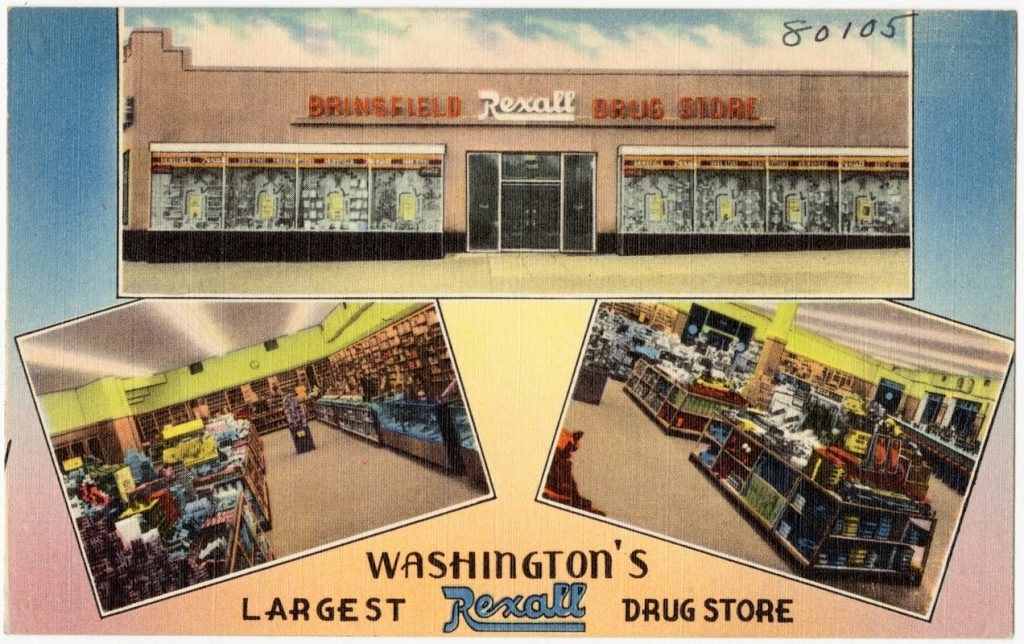 washington historic postcard