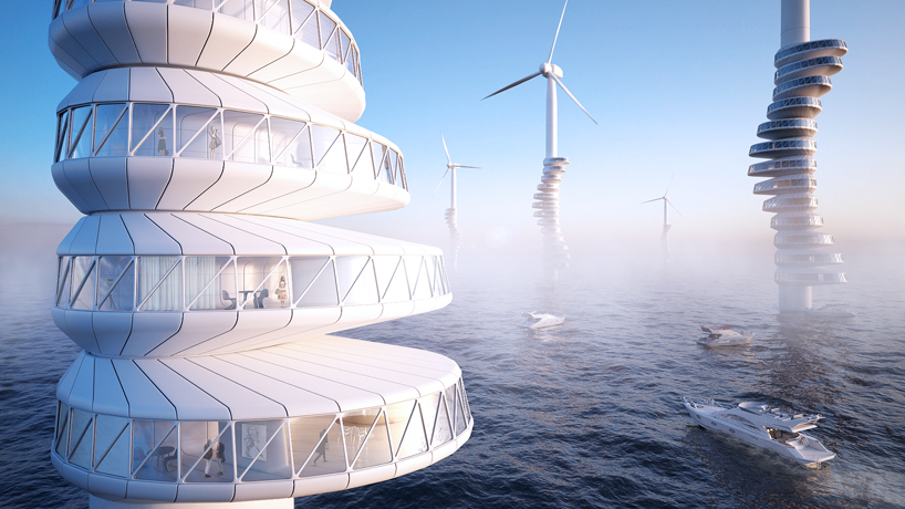 wind turbine apartment building