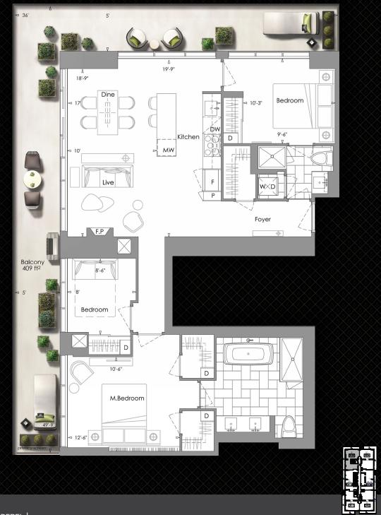 yc penthouse floorplan