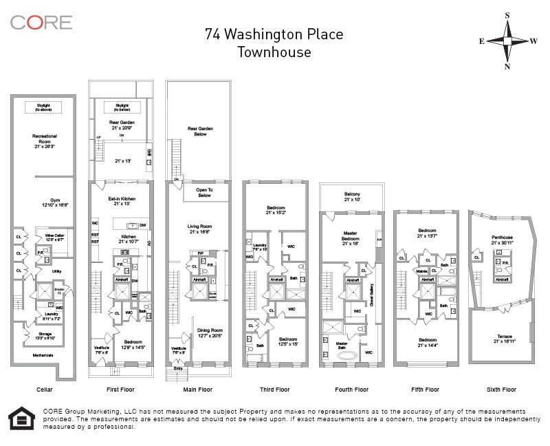 74 Washington Place townhouse