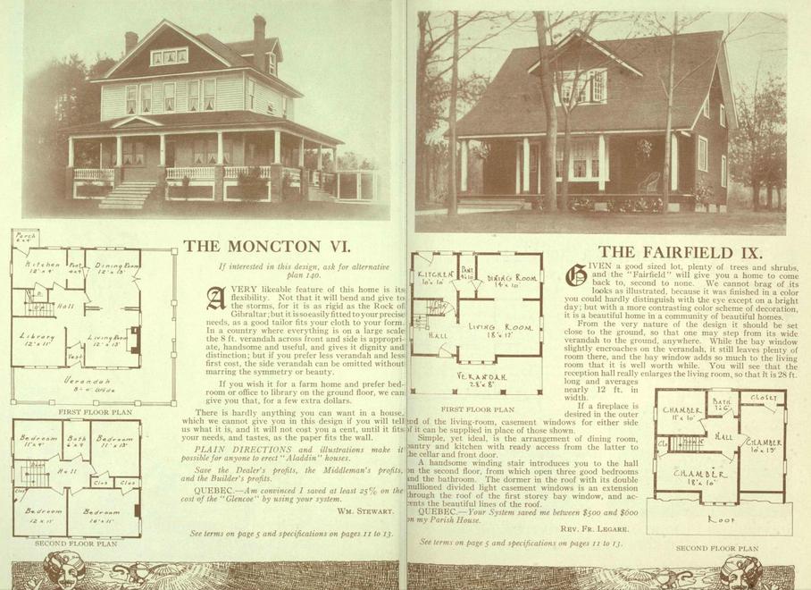 Alladin Houses mail order
