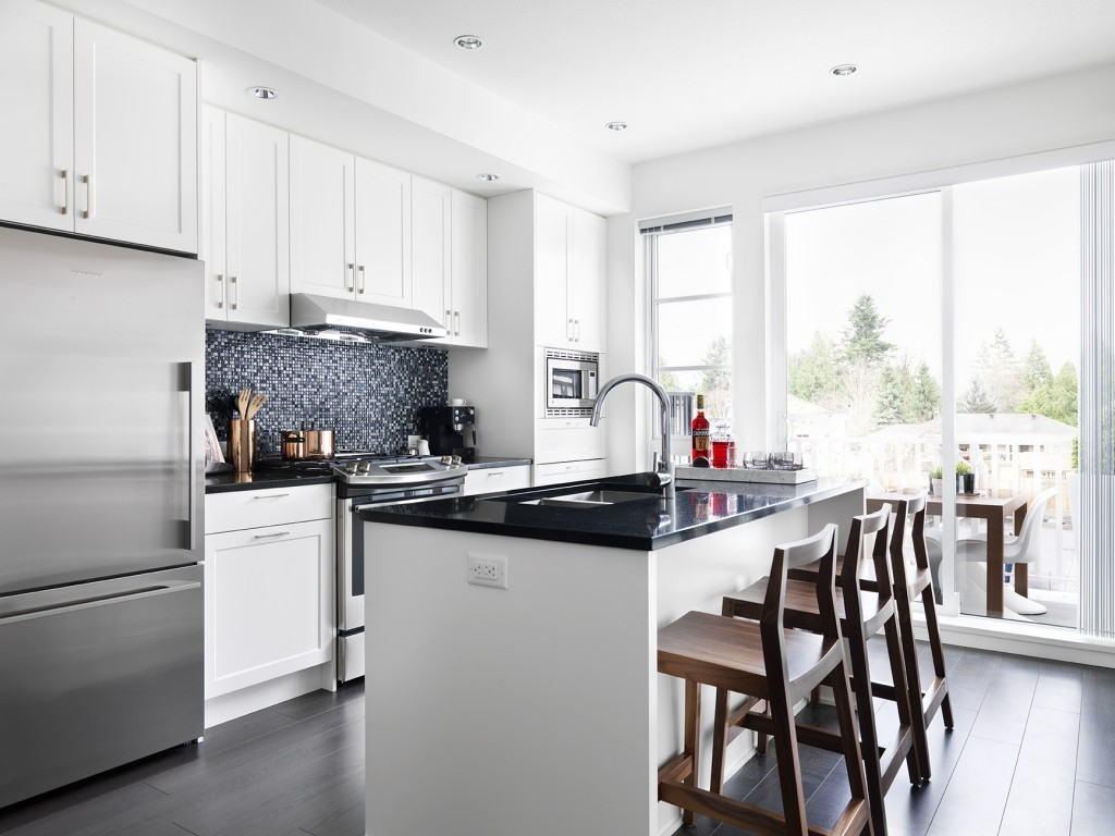 Black-Whites-on-Foster-Coquitlam-townhomes