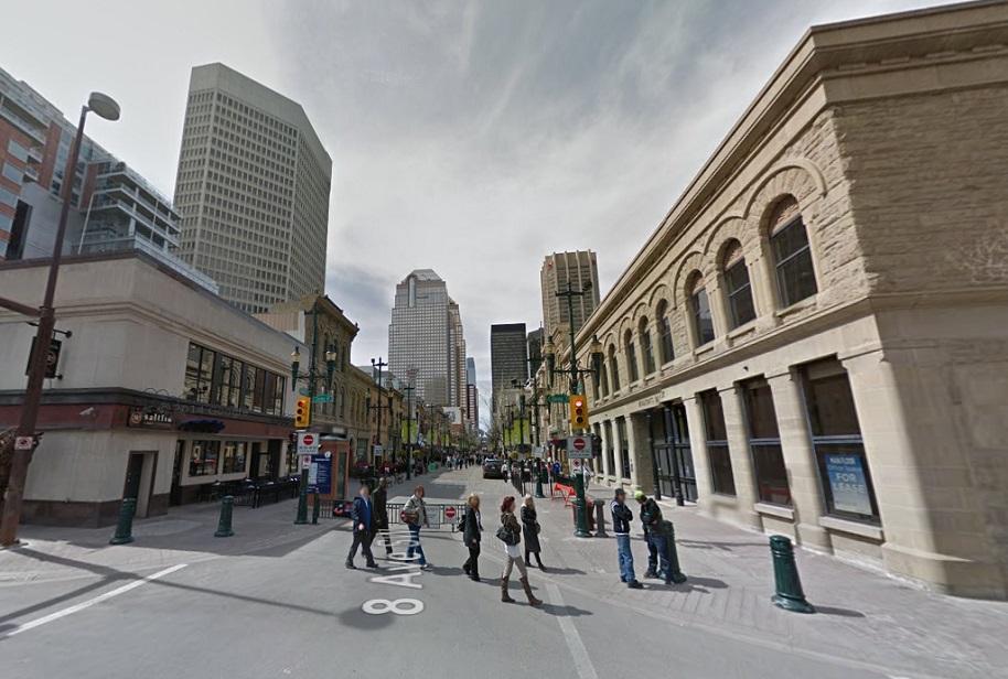 Eighth Avenue Calgary historic-1