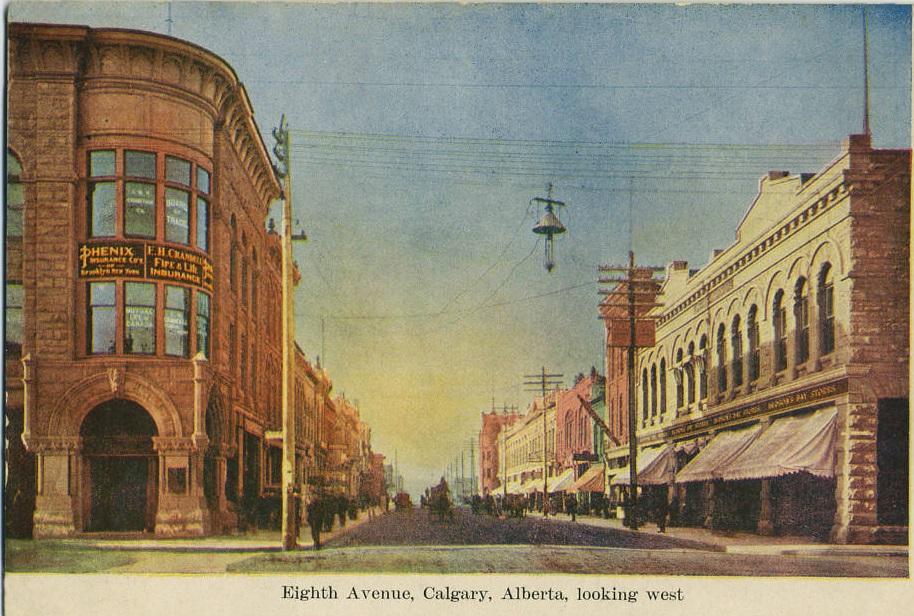 Eighth Avenue Calgary historic