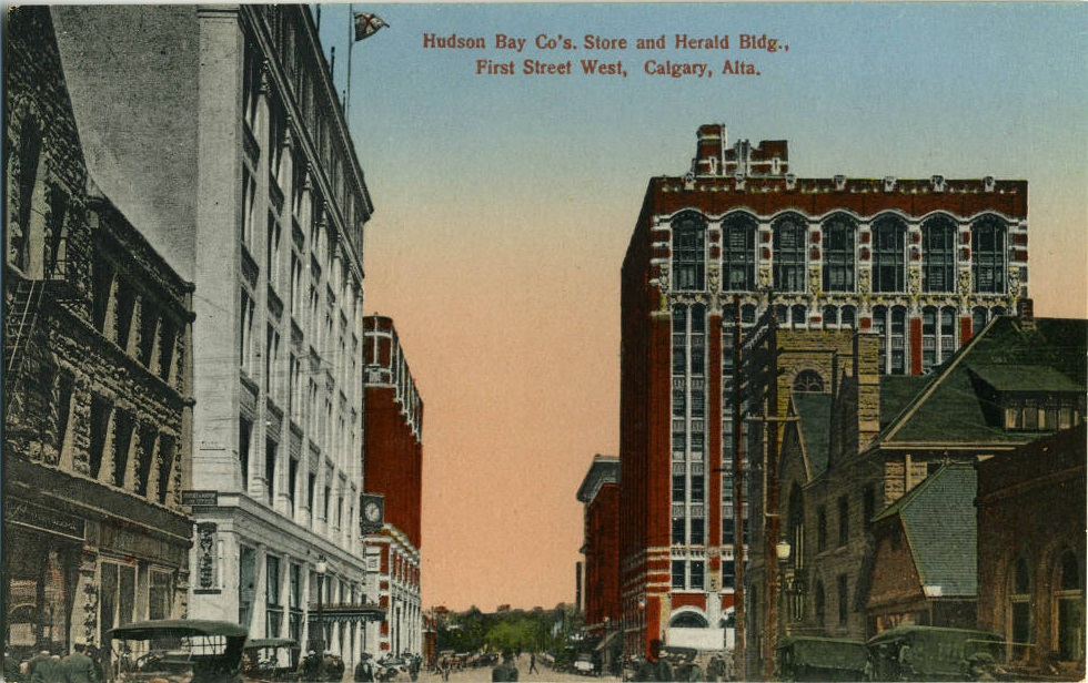 Hudson Bay store Calgary historic-3