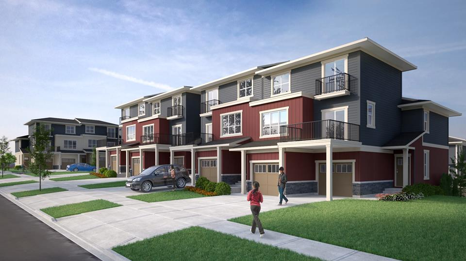 Sonoma at Nolan Hill Calgary townhomes