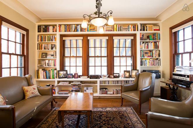 Warren Buffett library
