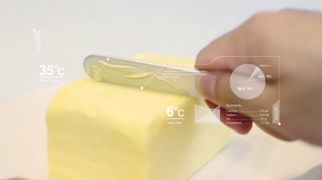 butter knife futuristic kitchen gadgets
